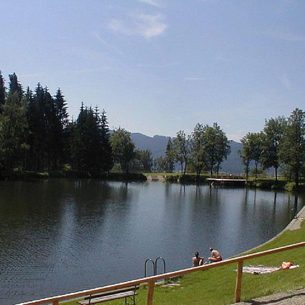 Ausflugsziel Badeteich